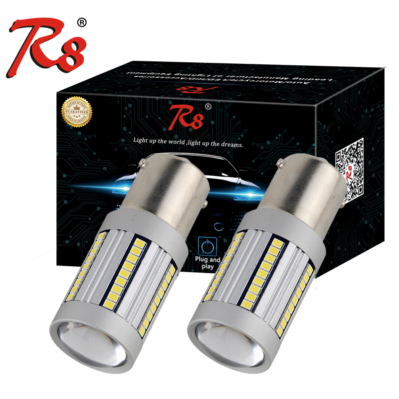 R8 2PC P21W <font><b>PY21W</b></font> <font><b>LED</b></font> <font><b>Canbus</b></font> BA15S BAU15S 21W 1156 Car <font><b>led</b></font> Light 2016 66SMD Amber White Auto Turn Signal Bulb No Hyper Flash image