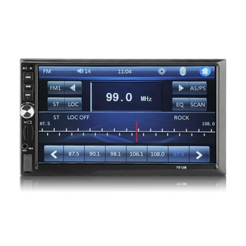 7012B 7 Inch DOUBLE 2DIN Car MP5 Player BT Touch Screen Stereo Radio Multimedia player MP5 Player USB FM image
