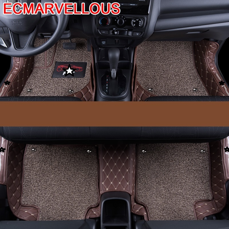 Upgraded Accessories Automobiles Carpet Car Floor Mats Mouldings Modified Auto Modification Interior Foot Pad FOR Honda Fit