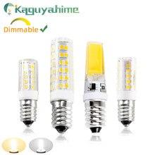 Kaguyahime e14 lâmpada led 3w 6 12 led e14 lâmpada alto brilho ac 220v lampada led spotlight candeeiro de mesa bombilla vela lâmpada