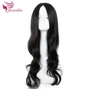 Синтетические парики, прямые U-образные, без человеческих волос, парики 360 без передних волос на сетке, предварительно выщипанные Детские во...