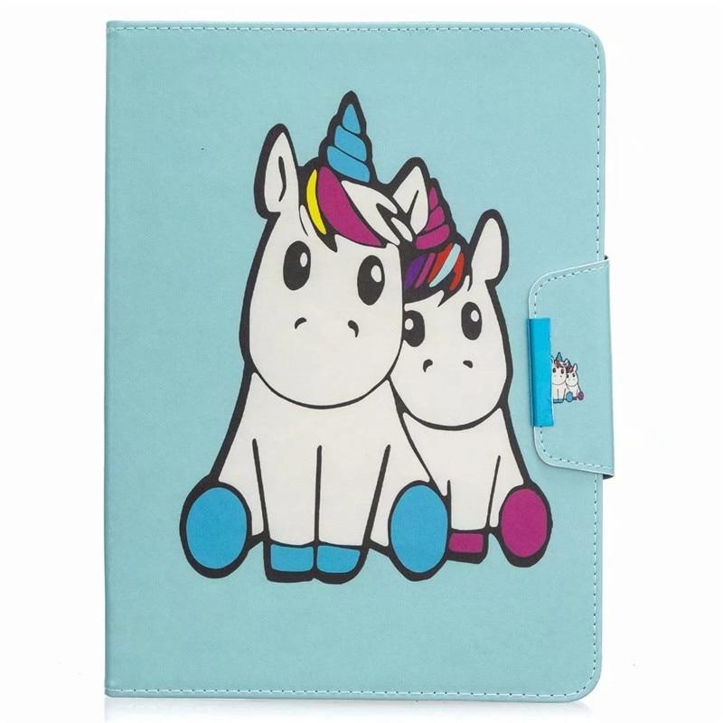 For Funda iPad Unicorn for Flamingo Panda Case 11 Kawaii Cover Tablet 2020 Coque Pro