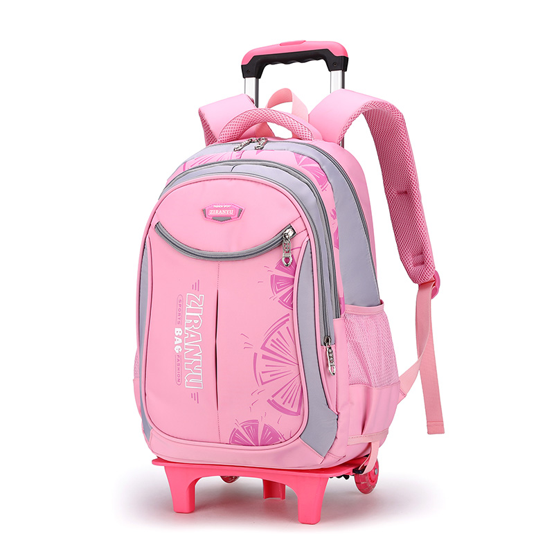 Rolling Backpack for Boys Girls Wheeled Backpack Trolley School Bags Travel Luggage with 2 Wheels school bags children school bagschildren school - AliExpress