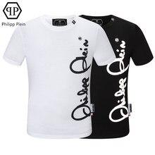 Philipp – T-shirt décontracté à manches courtes, mode pleine marque, européen et américain