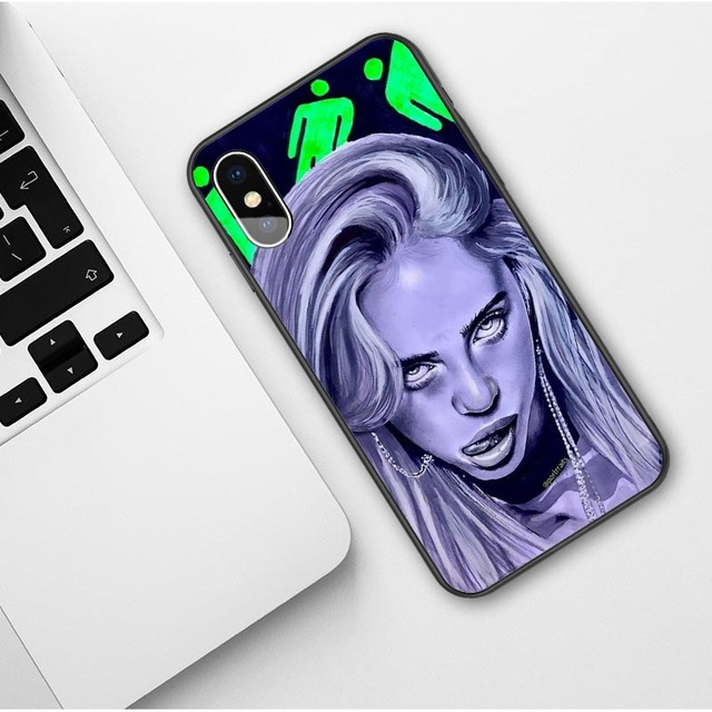 3D BILLIE EILISH IPHONE CASE (23 VARIAN)