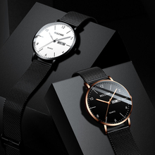 Mens Watch Luxury Brand Business Casual Quartz Waterproof Luminous Calendar For Gifts wrist watch