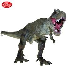 Jurassic Dinosaur Toys Tyrannosaurus Rex Model Plastic Simulation Dinosaur Park Pvc Action Figure Toy Kids Gifts jurassic world dinosaurs toys mini joints tyrannosaurus figures boys toys figuras dinosaur toys for children action figure gifts