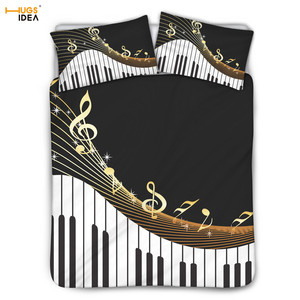 HUGSIDEA 3D Musical Notes and