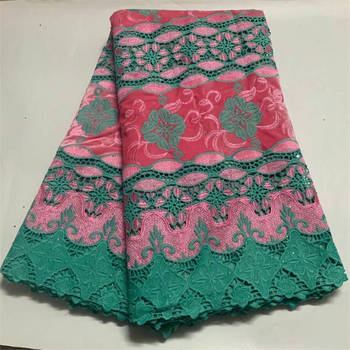 African Lace Fabric High Quality French Tulle Lace Fabric 2020 Nigerian Laces Guipure Embroidery Fabric For Wedding