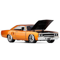 1:24 Muscle Retro Sports Car Dodge Challenger 1970 Advanced Alloy Car Toy Collection Model Diecast Metal Model Toy Vehicle