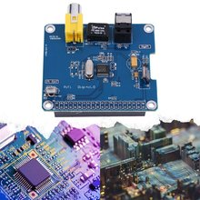 Raspberry Pi 3/2B HIFI DiGi Digital Sound Card I2S Digital Audio Expansion Board Optical Fiber Module Expansion Board