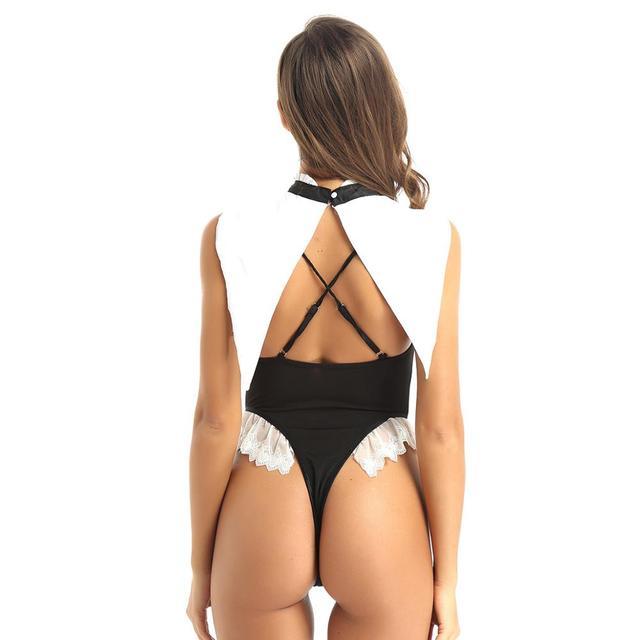 Erotic Maid Erotic Cosplay Costume #C1533 3