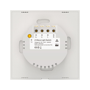 Image 5 - NEO COOLCAM 3CH Z wave Plus Wall Light Switch 3 Gang Home Automation Wall Light Switch Touch Control EU 868.4MHZ
