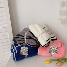 Luxury Brand Multicolor Towel Household Bathroom Towel Microfiber Solid Quickly Dry Hair Towel Womens Face Towel Absorbent Towel