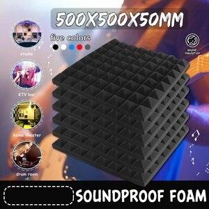 12pcs 50X50X5mm Soundproofing