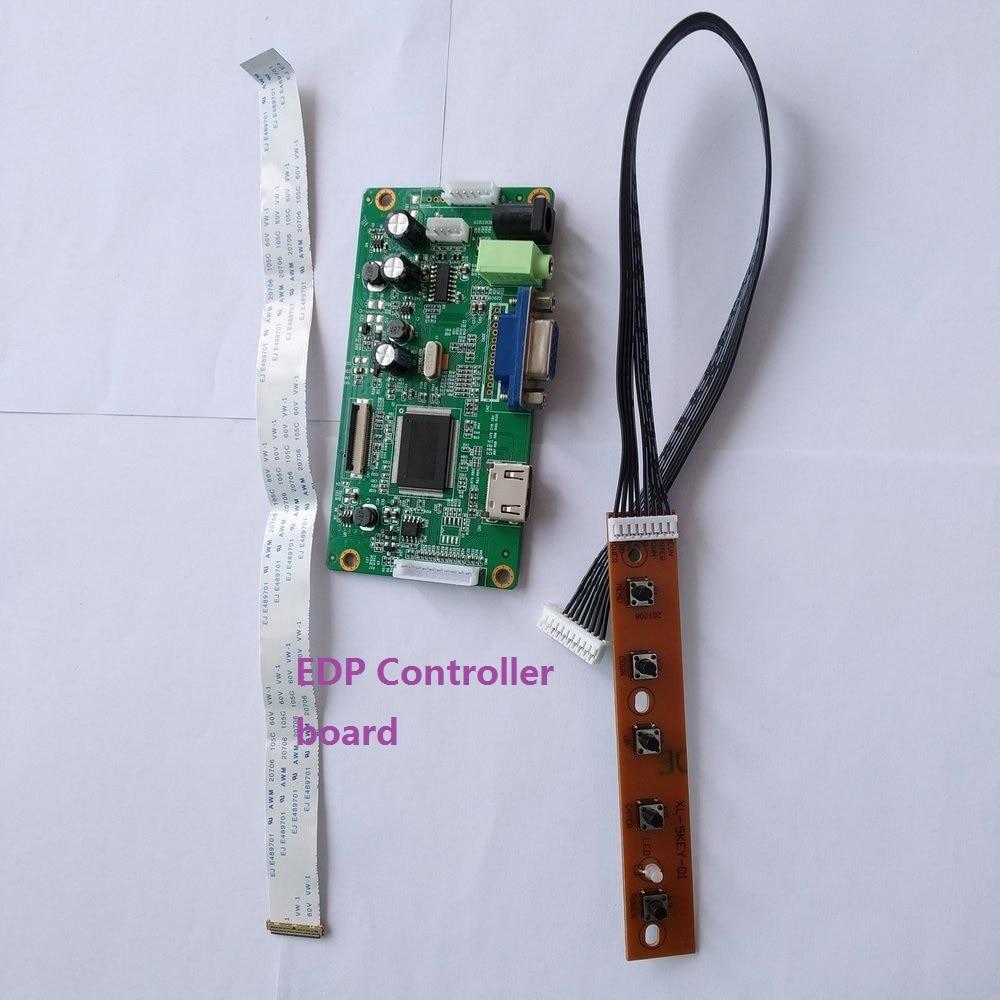 HDMI VGA EDP LED Controller Board driver Kit 30pin for N140BGE-E33 1366*768