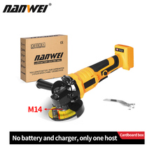 125mm Brushless angle grinder without battery applicable to the battery of Makita