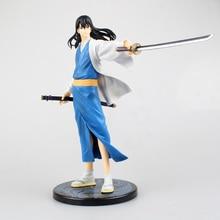21cm GINTAMA Action figure Katsura Kotarou PVC Collectible model Toys Anime collections figure toy friends Doll Gifts стоимость
