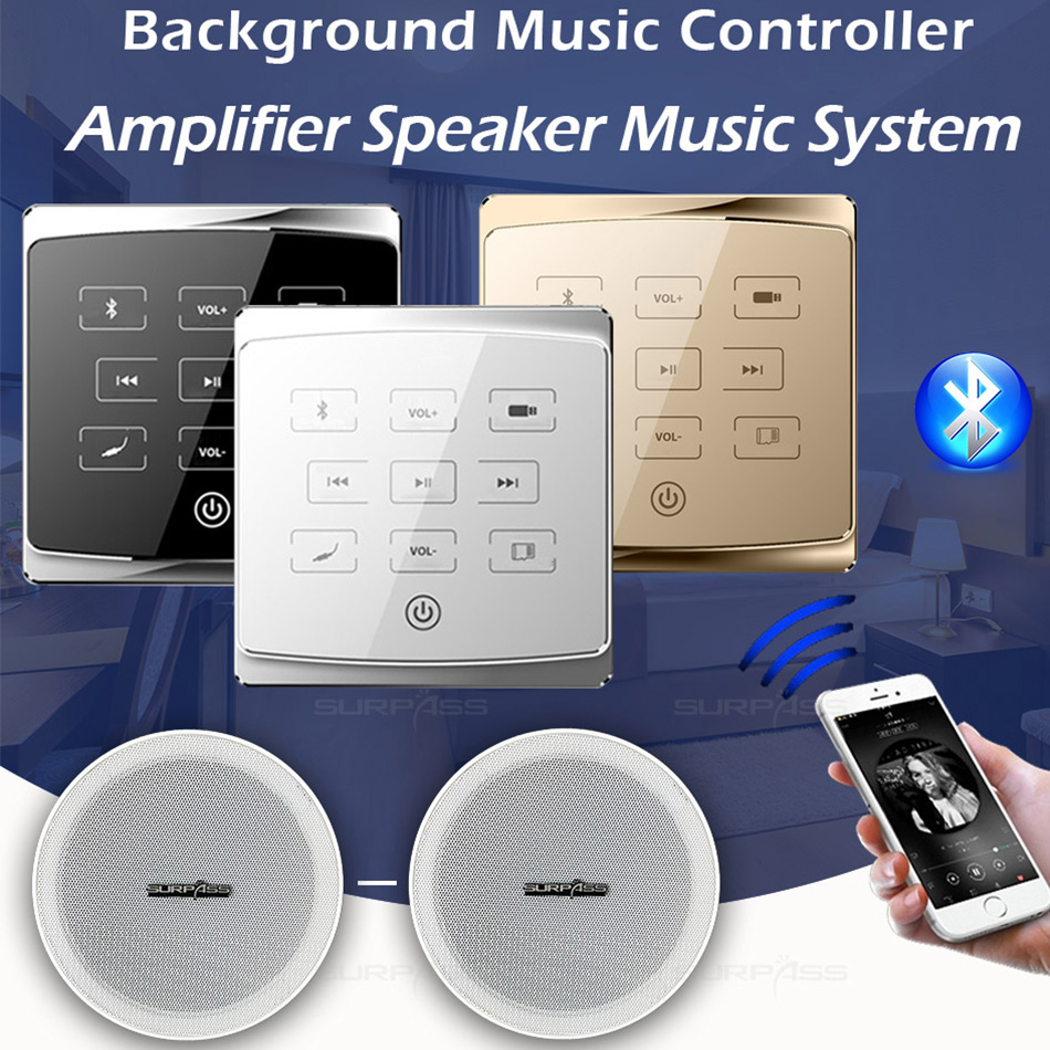 Wall Music Controller Keypad Panel Music Amplifier Home Audio System Bluetooth Wall Mounted Keypad For Multiroom Audio Solution Amplifier Aliexpress
