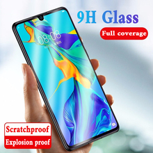9H Full Cover Tempered Glass on For Huawei P20 Pro P30 lite Screen Protector Film For Honor 20 10 9 Lite 20 Pro Protective Glass