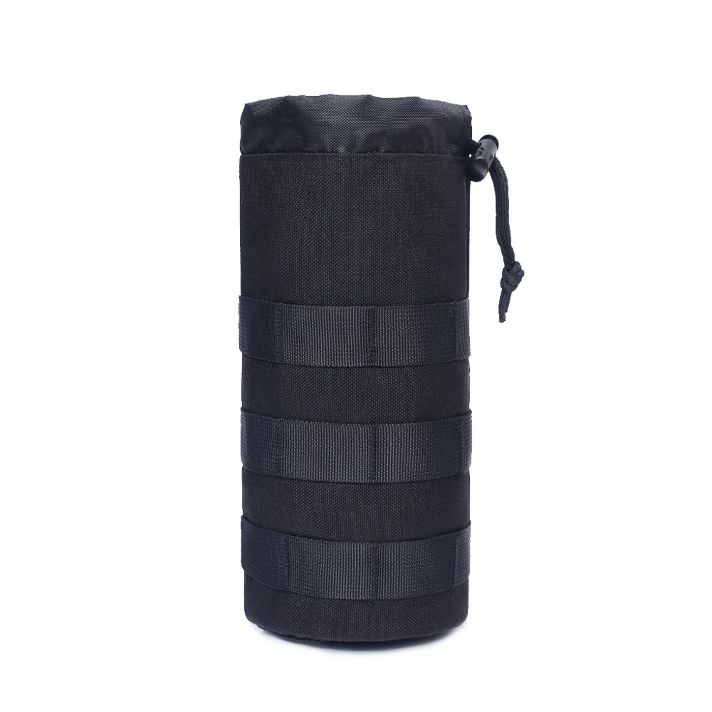 Bright Outdoor Water Bottle Holster Tactical Molle Pouch Hydration Carrier Holder Bags Travel Cycling Hunting Hiking Camping Kettle Bag To Win A High Admiration