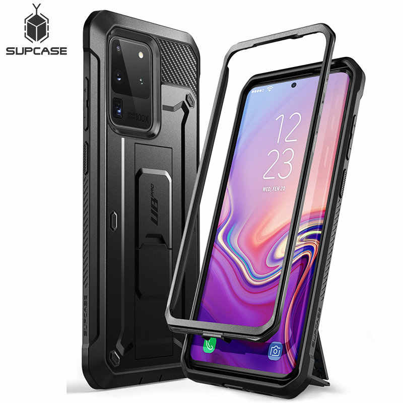 SUPCASE For Samsung Galaxy S20 Ultra Case / S20 Ultra 5G Case UB Pro Full-Body Holster Cover WITHOUT Built-in Screen Protector
