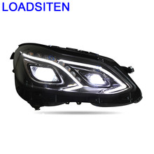 Drl Auto Styling Daytime Running Led Parts Lights Assembly Cob Automobiles Car Lighting Headlights FOR Mercedes Benz E Class(China)