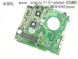 Fabrycznie nowa  płyta główna Y22A do płyty głównej HP PAVILION 17-F 17Z-F  763427-501 260M/2GB  A8-6410 (nowa pozycja)