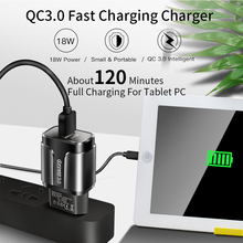 цена на QC 3.0 charger Smart phone tablet PC adapter USB charging head High-end battery charger for iphone samsuang huawei xiaomi phone