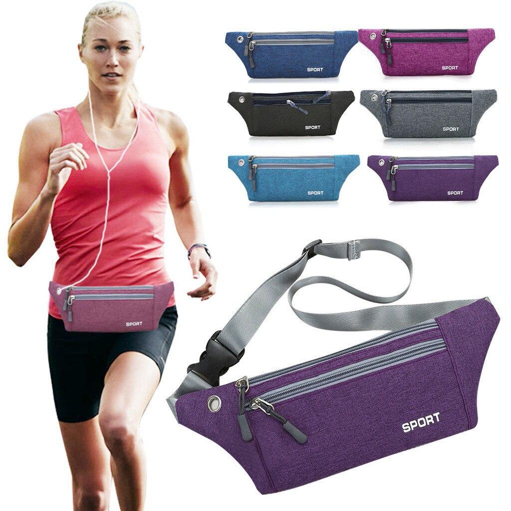Women Men Multi-function Pockets Outdoor Sport Leisure Messenger Waist Packs Belt Chest Bag Fanny Pack Running Kid Heuptas