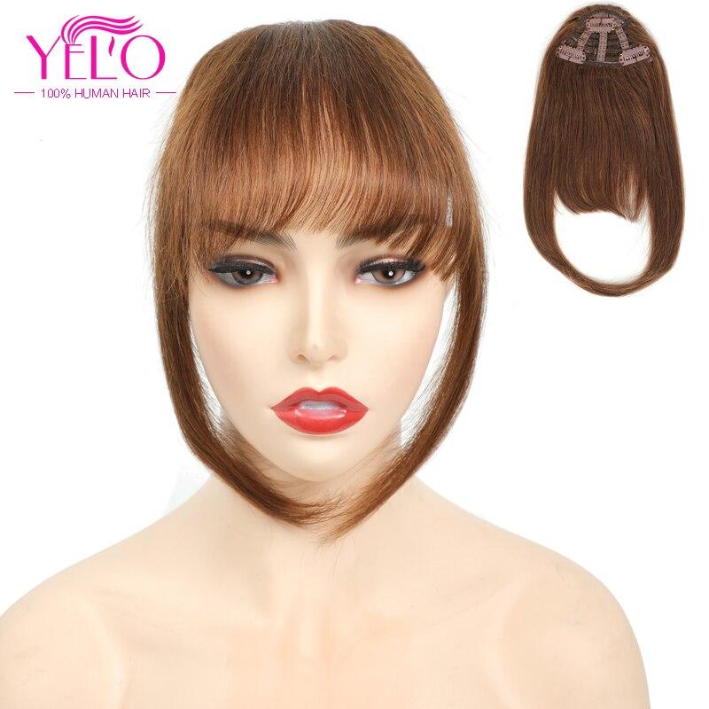 Yelo grampo em extensões de cabelo humano