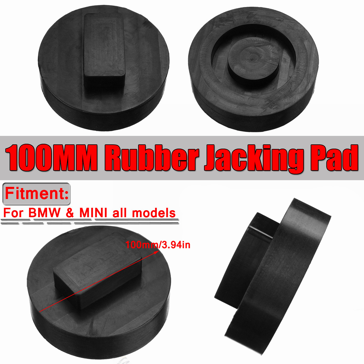 Car Rubber Jack Pad For BMW Tool Jacking Lifting Pad Adapter For BMW Mini E81 E82 E87 F22 F23 F45 F46 F32 Tool-cric Adaptateur