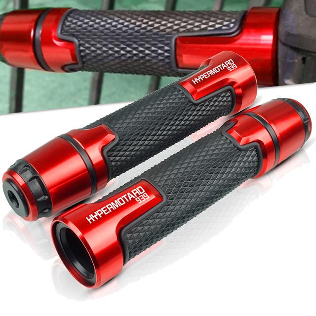 FOR Ducati Hypermotard 939 2013 2014 2015 2016 2017 7/8″ 22MM Motorcycle handlebar grip ends handles Motorbike handlebar grips