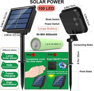 Image 4 - Гирлянда на солнечной батарее, 8 режимов, 10 м, 20 м