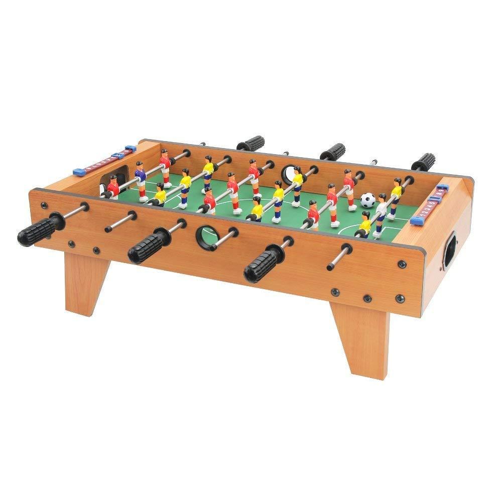 Zhenwei Mini baby-foot en bois Table de Football jeu d'interaction jeu de Football enfants joueur jeux de société