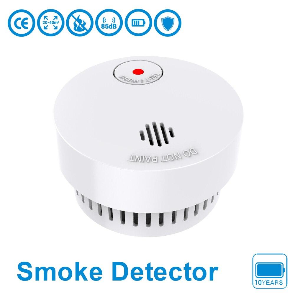 Original Independent Smoke Detector Sensor Fire Alarm Home Security System Firefighters Smoke Alarm Sensor