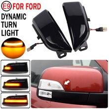 For Ford Everest 2015 2019 Ranger T6 Raptor Wildtrak Car Accessories Dynamic Turn Signal Light LED Side Mirror Indicator Blinker