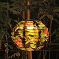 FÜHRTE Chinesische Laterne Lampe Solar IP55 Wasserdichte Papier Laterne Licht Für Outdoor Garten Hochzeit Urlaub Party Decor Laterne Lampe