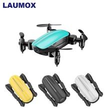 LAUMOX T10 Радиоуправляемый Дрон с HD камерой мини Дрон WiFi FPV складной Квадрокоптер вертолет Безголовый режим удержания высоты селфи дроны