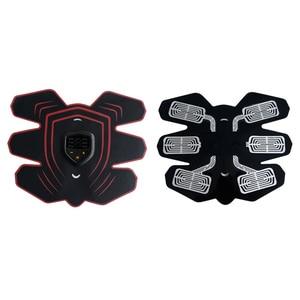 Image 5 - YOUKE Estimulador muscular eléctrico inteligente Unisex, 9 archivos, estimulador muscular Abdominal EMS, masajeador de Estimulador muscular Abdominal