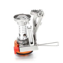 лучшая цена Outdoor Portable Mini Stove Camping Oven Folding Survival Furnace 3000W Stove Pocket Picnic Cooking Gas Stoves Burner Cooker