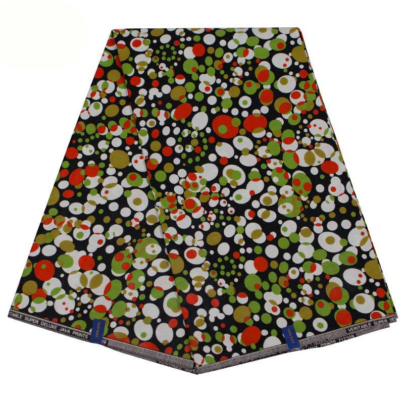 2019 New Fashion 100% Cotton Irregular Spots Print African Fabric Pagnes African Real Dutch Wax 6yard