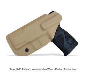 Image 4 - Kabura pistoletowa IWB Kydex dopasowanie: Taurus G2C 9mm i Millennium PT111 G2 / PT140 kabura z ukrytym paskiem