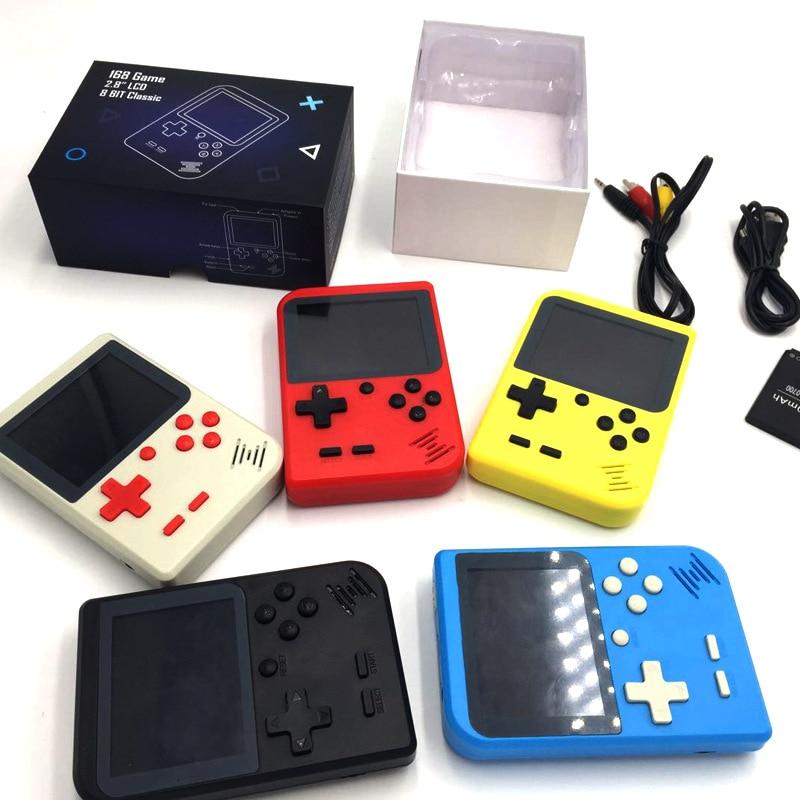 New Style Mini Game Console NES Nostalgic Game Console GBA Big Screen Handheld Game Console PSP Handheld 168-Game