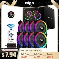 Aigo DR12 Pro Computer Fall PC Fan Einstellen ARGB Lüfter 120mm Ruhig Control AURA SYNC Computer Kühler Kühlung RGB Fall Fans