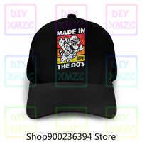 Gorra de béisbol de Super Mario Racoon, gorras de béisbol de los 80