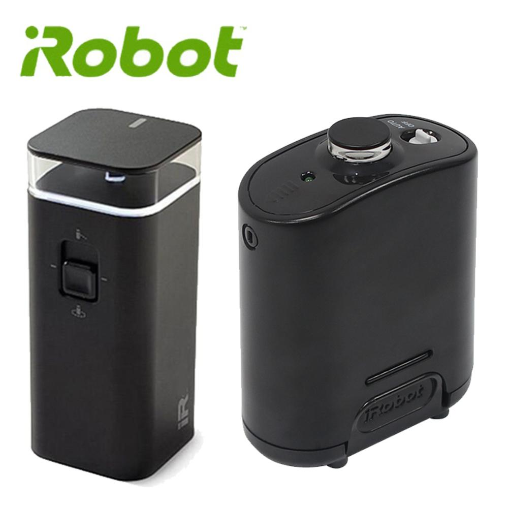 Auto-On Virtual Barrier Compatible for iRobot Roomba Compact 500//600//700 Series As Shown Sweeping Robot Accessories 2PCS Double-Mode Wall Navigation Box Vacuum Cleaner Parts Replacement