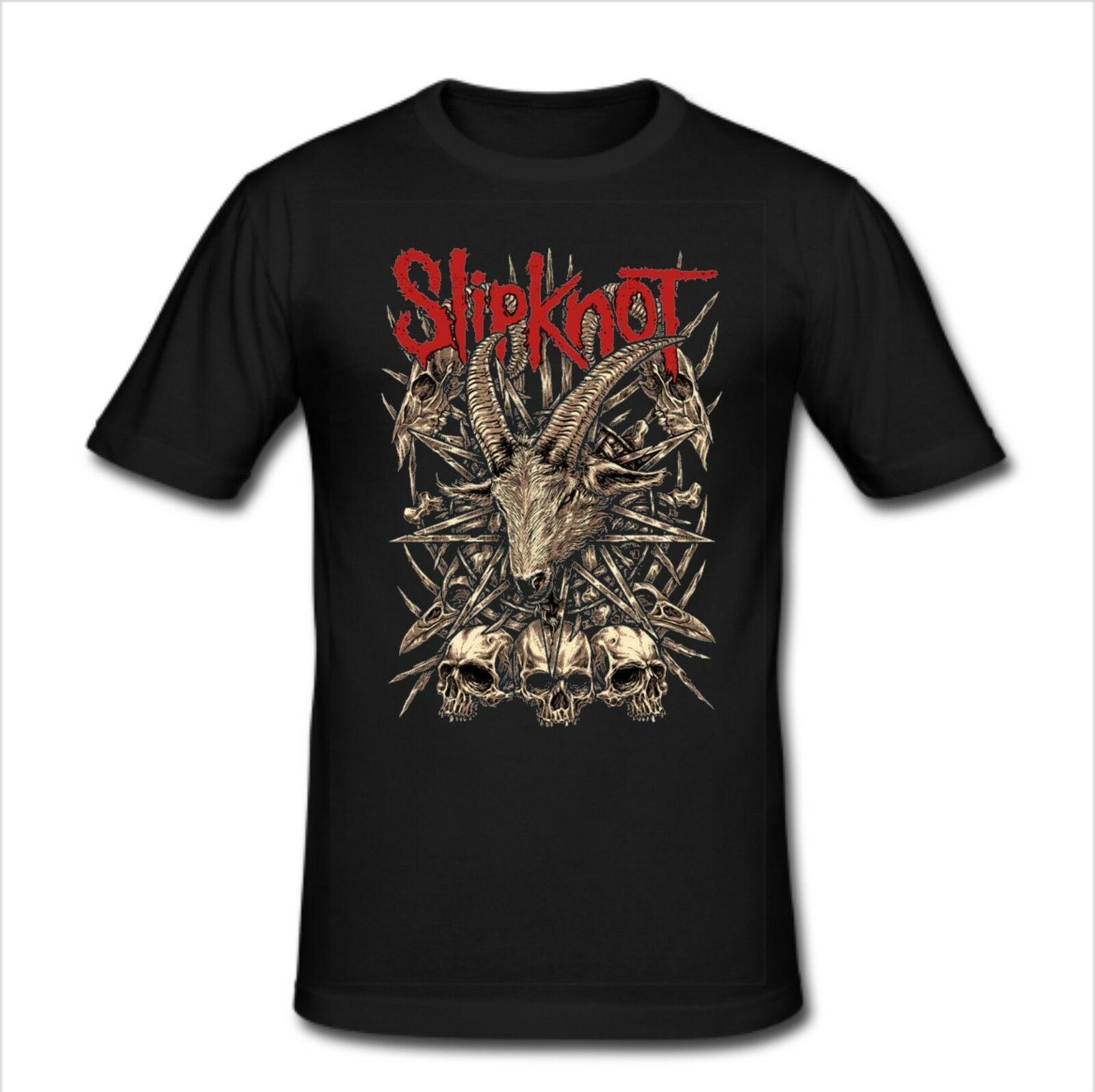 Mens Slim Fit T shirt size XL - Slipknot Heavy Metal Band