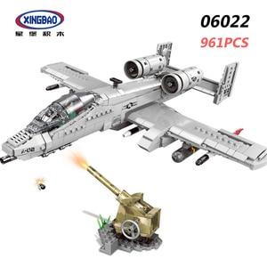 Image 2 - XINGBAO Новый 06021 06026 WW2 Военная Боевая серия самолет, танк, вертолет, бронированный автомобиль, набор строительных блоков кубики MOC Jugetes