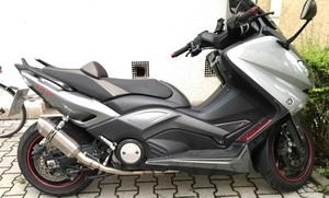 Image 4 - Motoo   Exhaust 전체 시스템 헤더 파이프 Yamaha T MAX Tmax 500 530 T MAX 500 530 2008   2016 배기 가스 없음